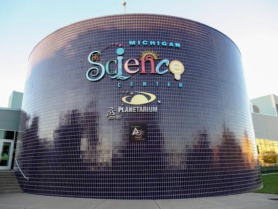 Michigan Science Center in Detroit.