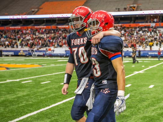 Chenango Forks' bid for a fourth-consecutive state