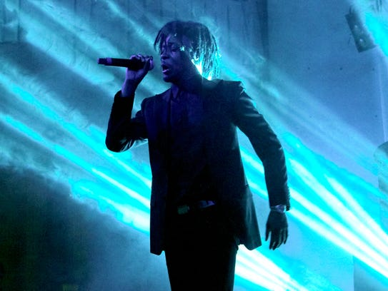 Danny Brown performs during his  Bruiser Thanksgiving