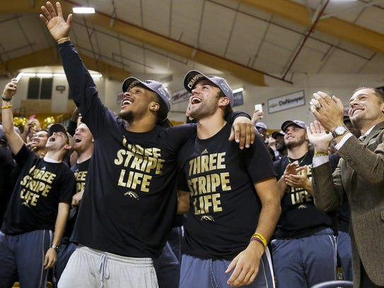 Western Michigan football team reacts to the announcement