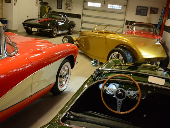 Owning 16 collectible – and drivable – cars, plus six