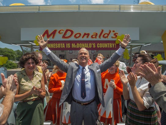 Michael Keaton plays Ray Kroc, who turned a family