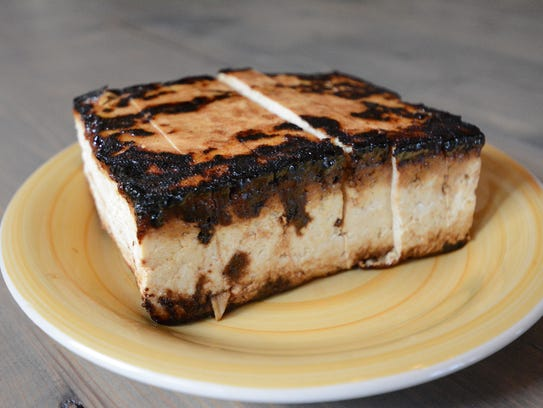 Sweet & Tangy Tofu is a meatless protein for a power