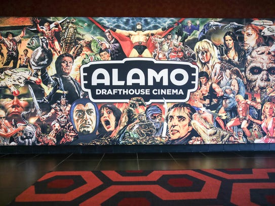 Alamo Drafthouse Cinema features two original murals