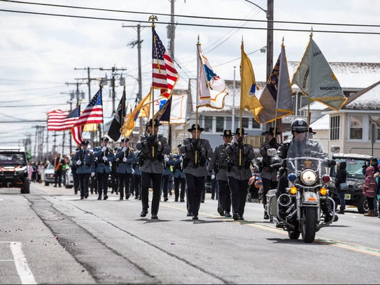 The Ocean County St. Patrick's Day Parade makes its