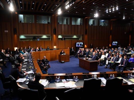 Supreme Court nominee Neil Gorsuch testifies before