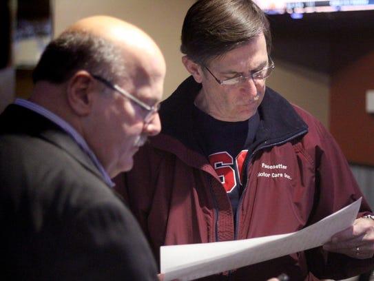 Former Franklin Mayor Patrick Murray check 2014 election