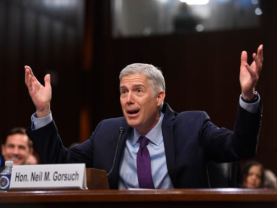 The political battle over Supreme Court nominee Neil