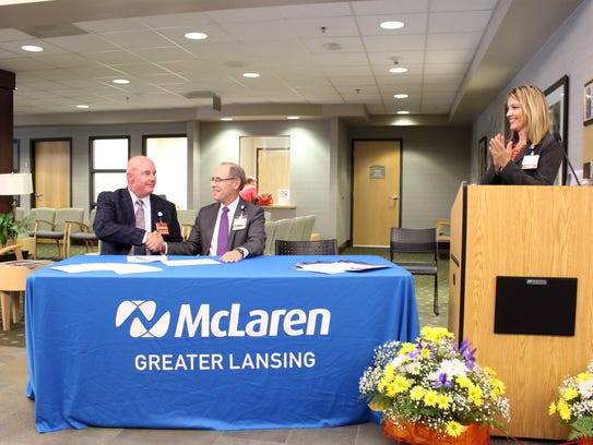 Tom Mee, President and CEO of McLaren Greater Lansing,