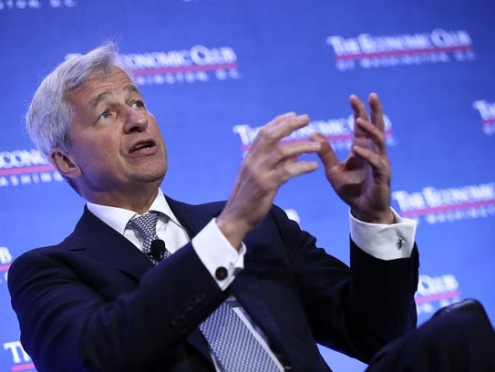JPMorgan Chase CEO Jamie Dimon Says the nation's top
