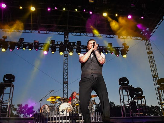 Alternative rock band Shinedown is set to perform on