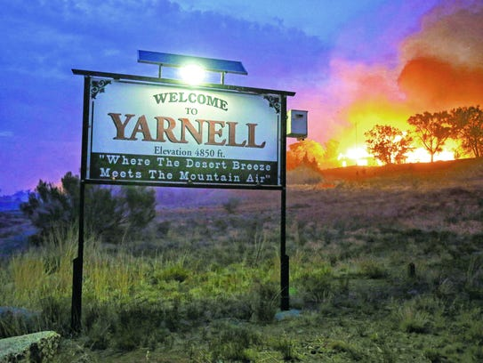 The Yarnell Hill Fire in 2013 killed 19 members of