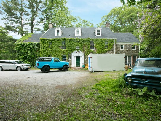 • The 7,107-square-foot colonial home boasts 22 acres