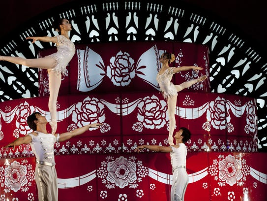 The National Acrobats and Martial Artists of China