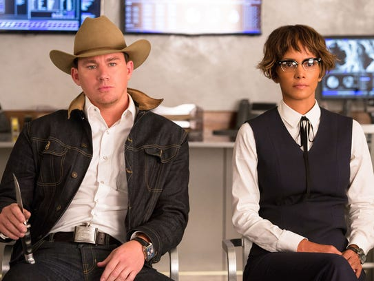 Agents Tequila (Channing Tatum, left) and Ginger Ale