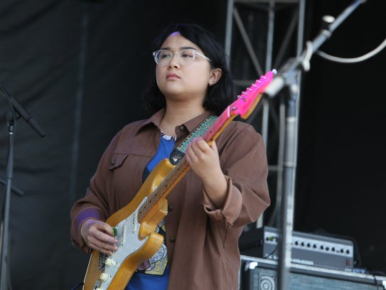 Jay Som performs during the 2017 Mo Pop Festival at