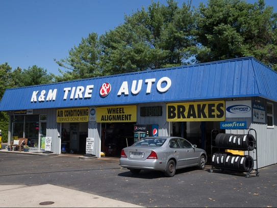 K&M Tire & Auto opened in Toms River in 2016.