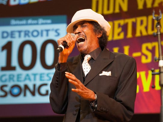 Melvin Davis performs with the Don Was Detroit All-Star