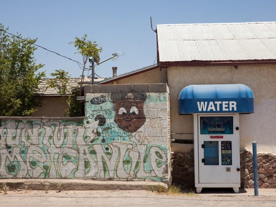 Water in La Union, N.M., had tested above the limit
