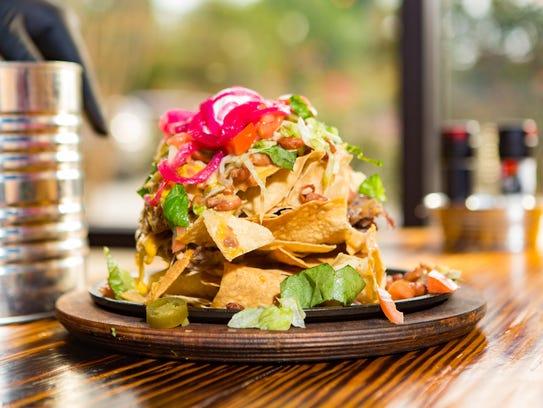 Nachos at Monterrey Grill
