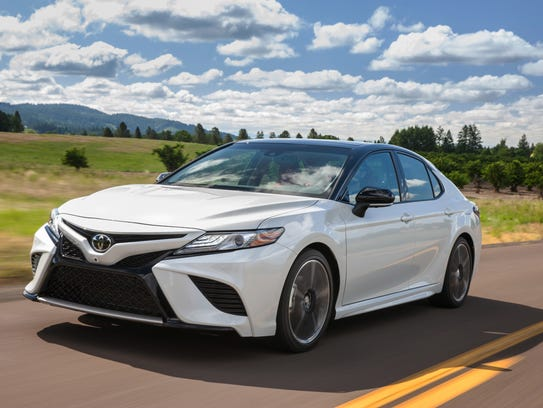 The 2018 Toyota Camry. (David Dewhurst Photography)