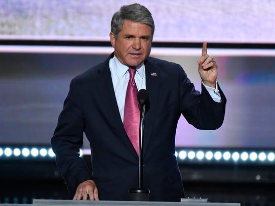 Rep. Michael McCaul, R-Texas, pictured speaking during