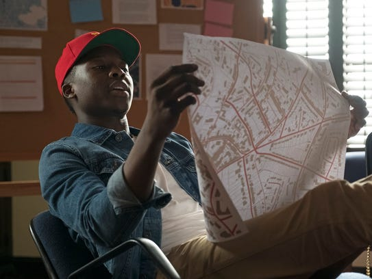 This image released by ABC shows Brandon Micheal Hall