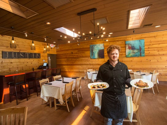 Chef Justin Jenkins, seen here at his restaurant Justin--Eat & Drink, said he was proud of what he has created in Cathedral City.