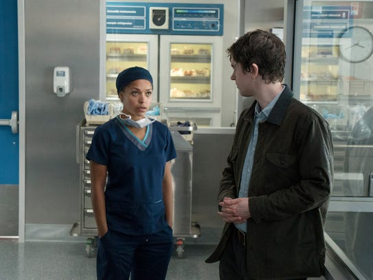 This image released by ABC shows Antonia Thomas, left,
