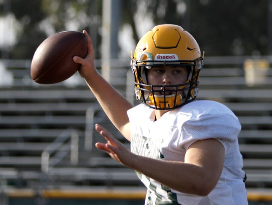 Sophomore quarterback Blake Sturgill has passed for
