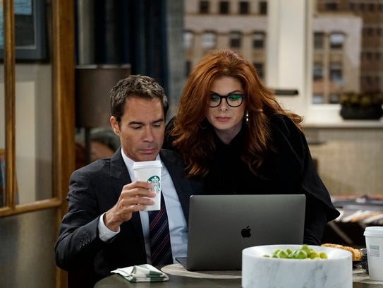 Will (Eric McCormack) and Grace (Debra Messing) have