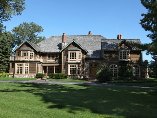 This is the Fox Point home Andy Gronik and his wife