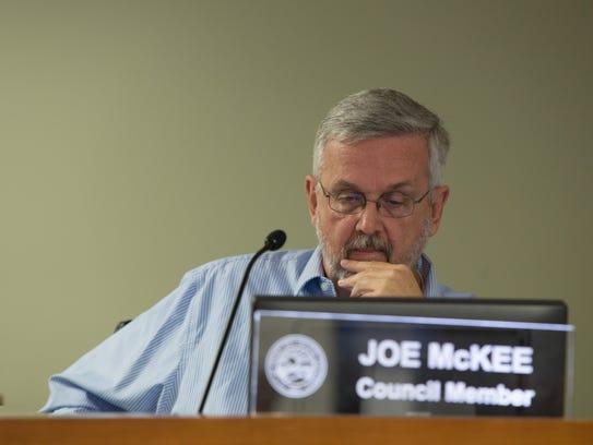 Desert Hot Springs City council member Joe McKee at