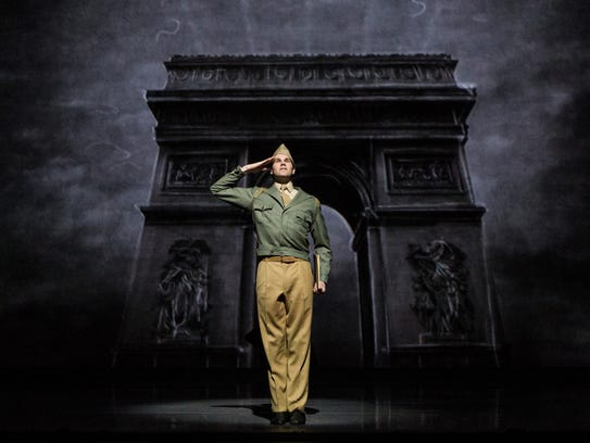 "McGee Maddox in ""An American in Paris."""
