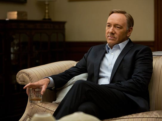 This image released by Netflix shows Kevin Spacey in