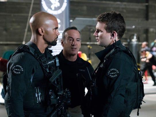 """Shemar Moore as Daniel """"Hondo"""" Harrelson and Peter"""