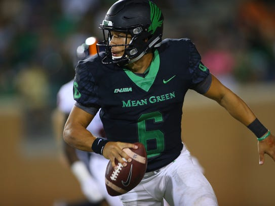 University of North Texas Mean Green Football v UTSA