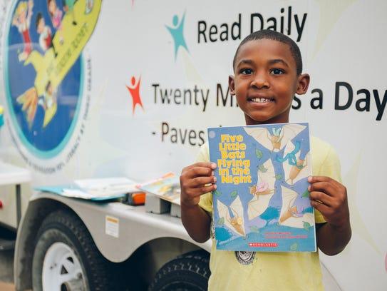 The Moonshot Moment community book drives put books