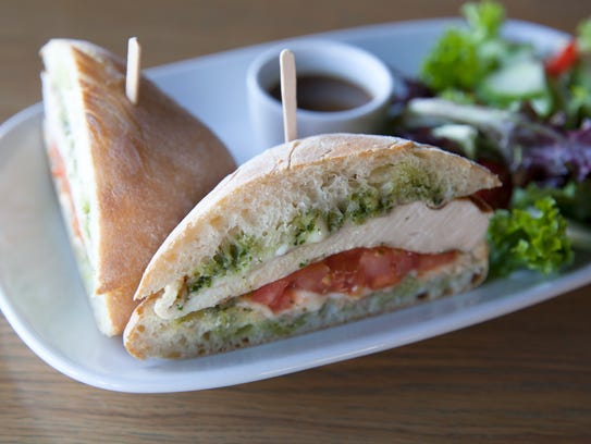 The chicken pesto sandwich is a Camarillo Restaurant Week lunch option at RELM Wine Beer Bistro. The dining promotion will be in effect from Jan. 22-28.