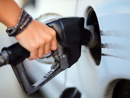 The average cost for regular, unleaded gas is currently