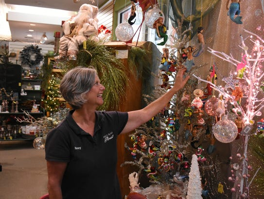 At Christmas, Marco Island Florist is transformed into