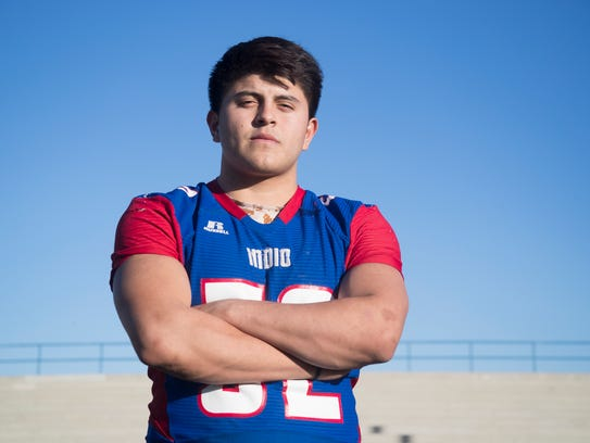 Indio senior Jose Pelayo is a member of the 2017 First Team All-Desert Sun football team.