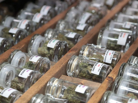 Two stores in Woodlake will sell marijuana for medical and recreational use.