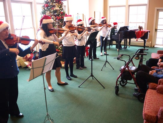 The Little Stars' holiday concert at Halsted Place