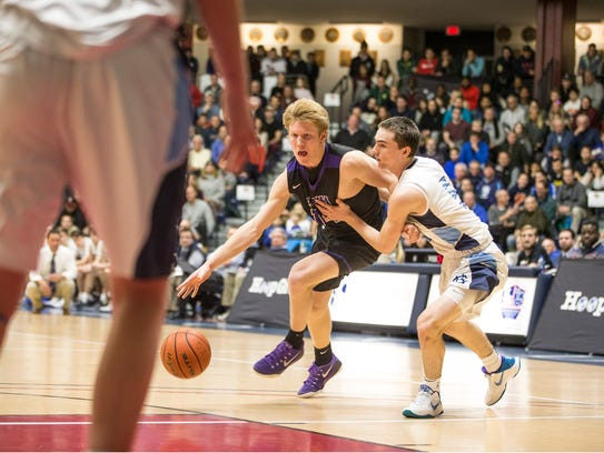 Rumson-Fair Haven vs Christian Brothers Academy game