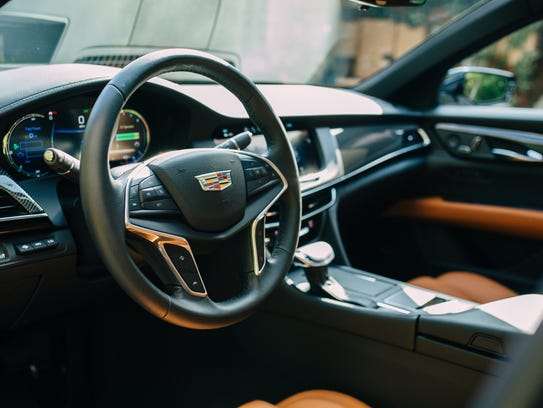 2017 Cadillac CT6 Plug-In.