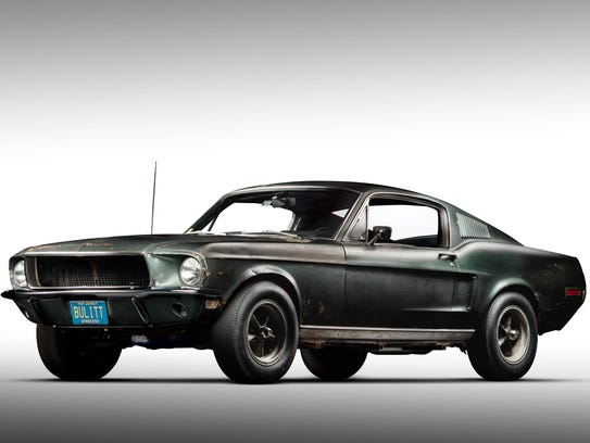 The 1968 Ford Mustang Fastback, serial #8R02S125559