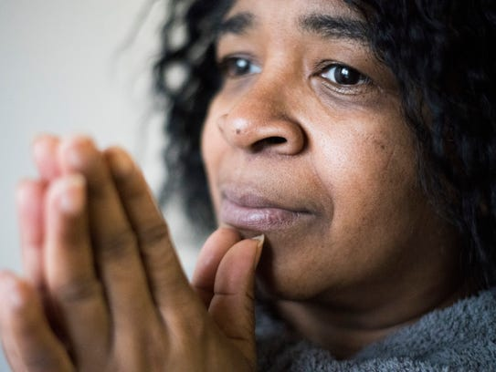 Eleanor Williams, 52, at her home in Waterbury, Connecticut,