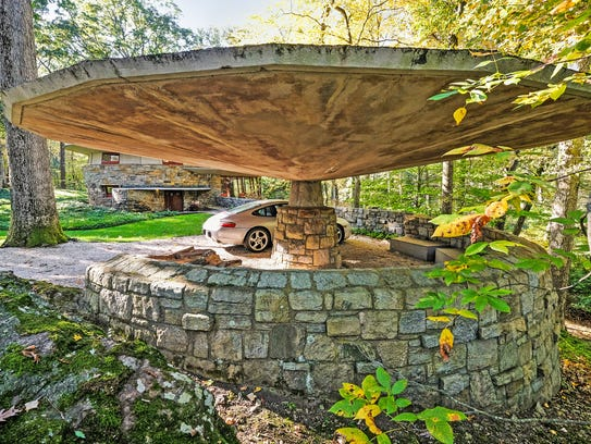 "Wright also coined the term ""carport"" and created one"