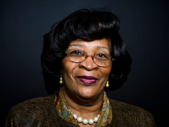 State Rep. Leola C. Robinson-Simpson poses for a portrait